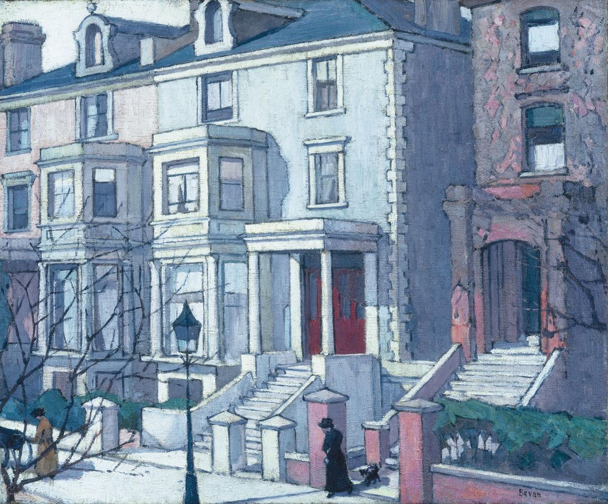 Robert-Bevan_house_in_sunlight_HIGHRES