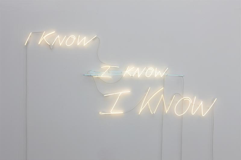 i know, i know, i know 1