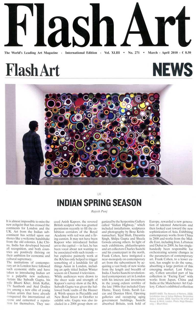 Flash Art – Indian Spring Season By Rajesh Punj