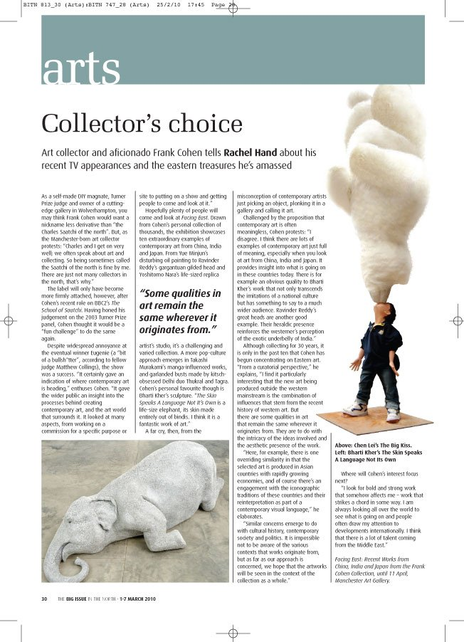 Big Issue in the North – Collectors choice By Rachel Hand