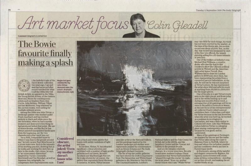 Art Market Focus – Colin Gleadell