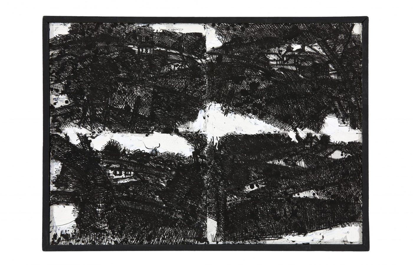 FXF18-10 John Virtue Landscape No 120 1990-91