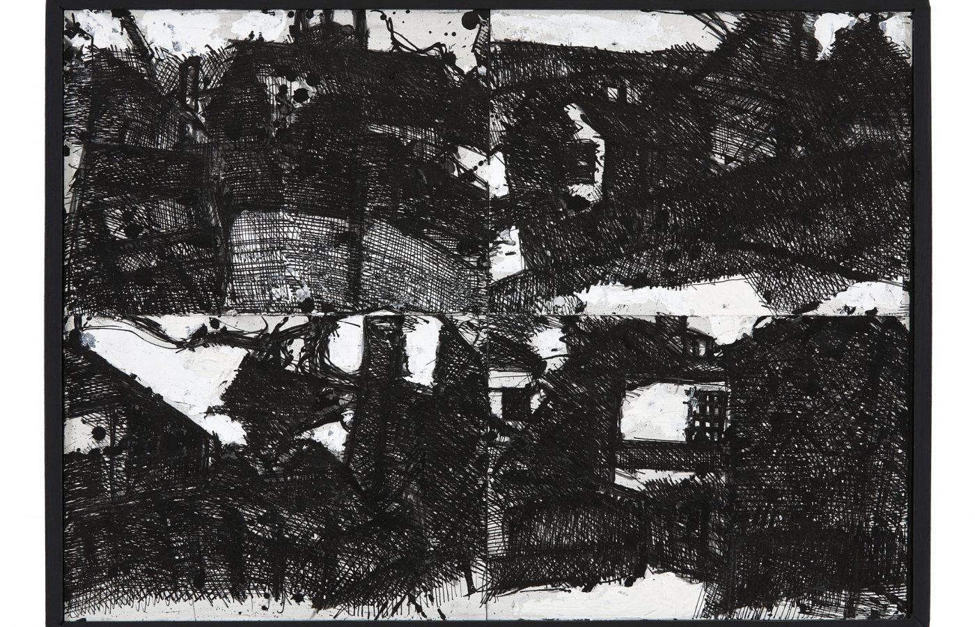 FXF18-11 John Virtue Landscape No 122 1990-91