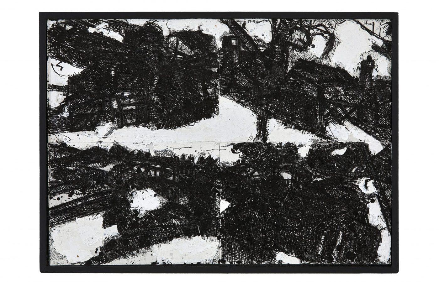 FXF18-12 John Virtue Landscape No 115 1990-91