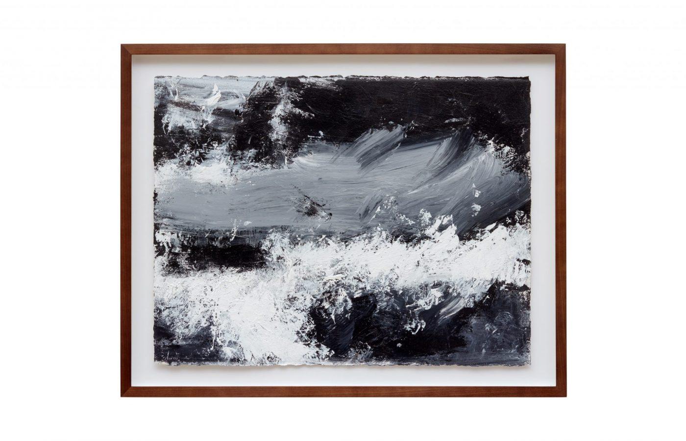 FXF18-28 John Virtue Untitled No 15 2014