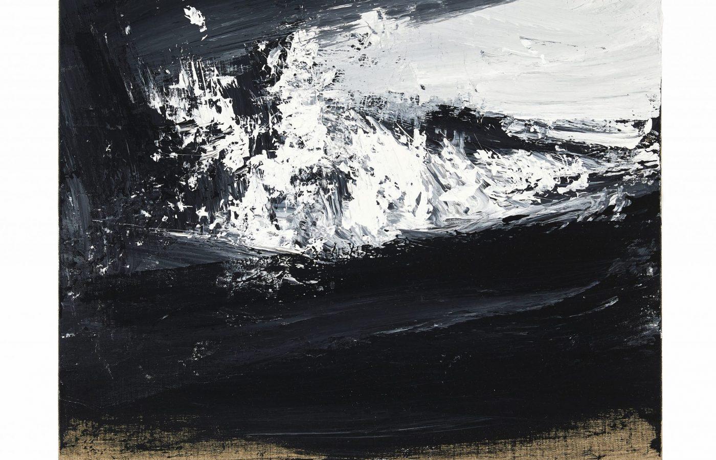 FXF18-46 John Virtue Untitled No 13 2016-17