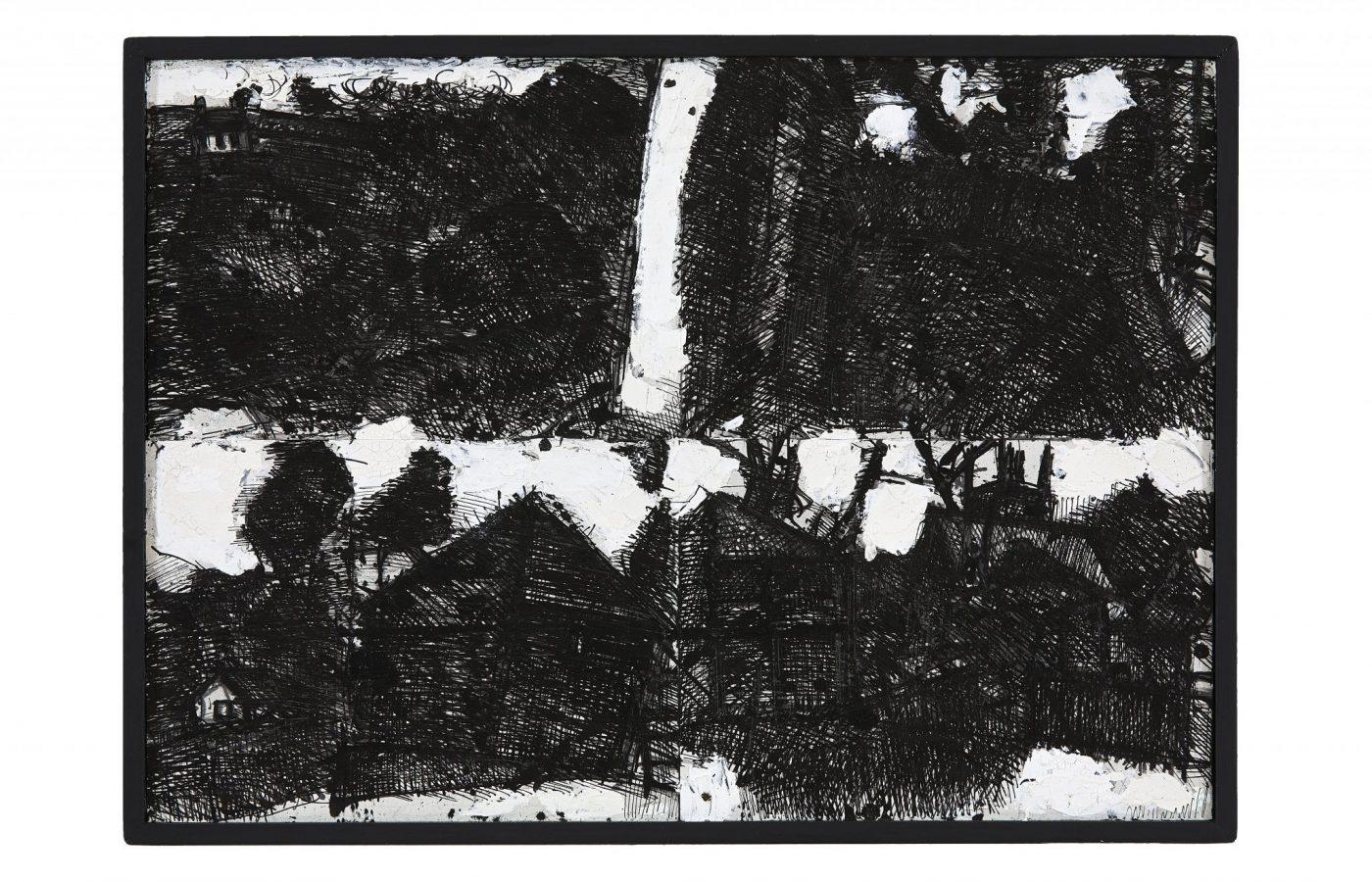 FXF18-51 John Virtue Landscape No 118 1990-91