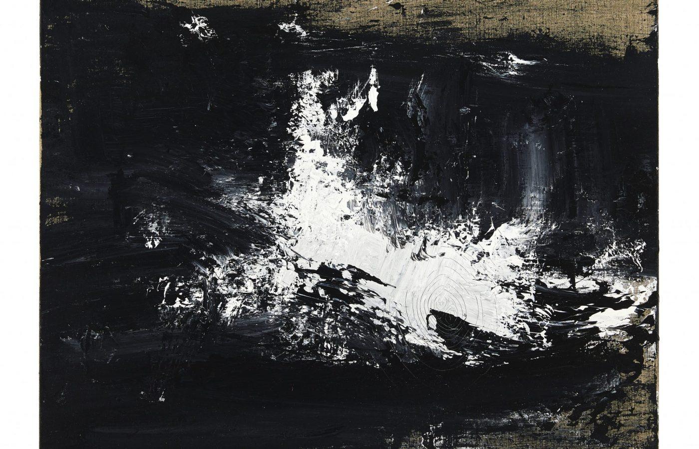 FXF18-52 John Virtue Untitled No 16 2016-17