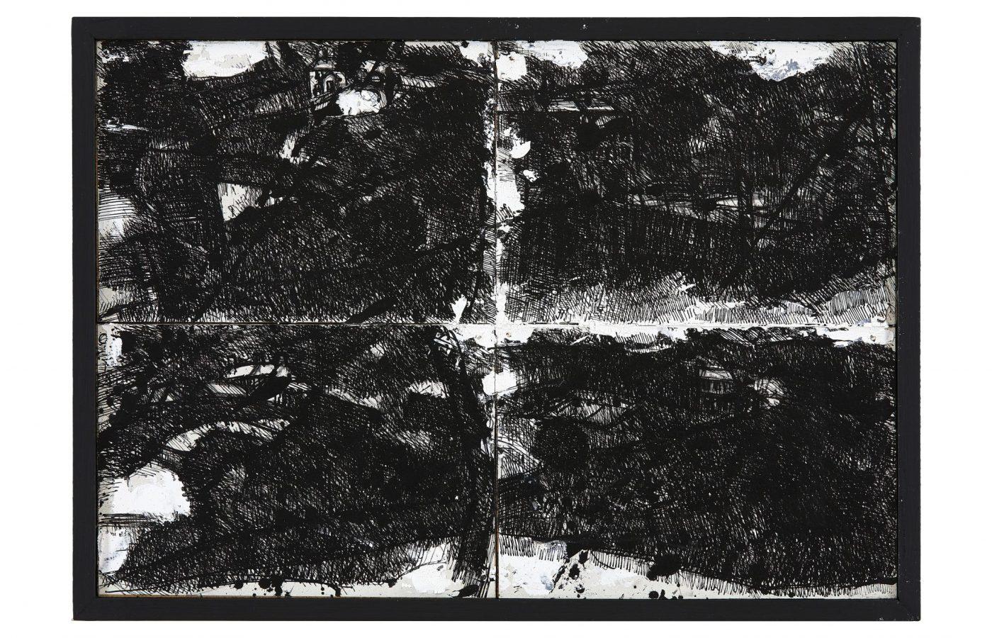 FXF18-53 John Virtue Landscape No 112 1990-91