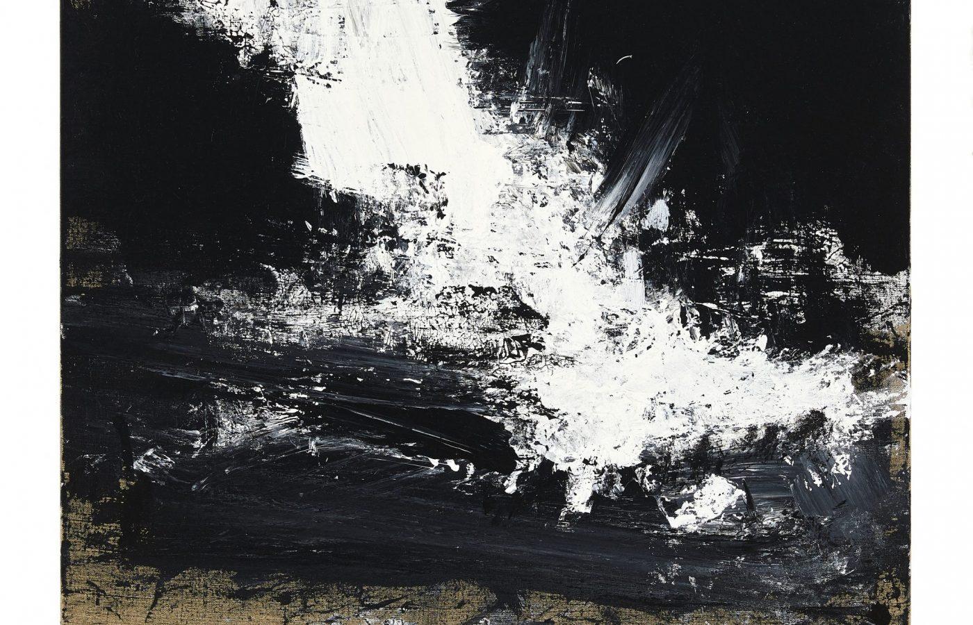 FXF18-57 John Virtue Untitled No 19 2016-17
