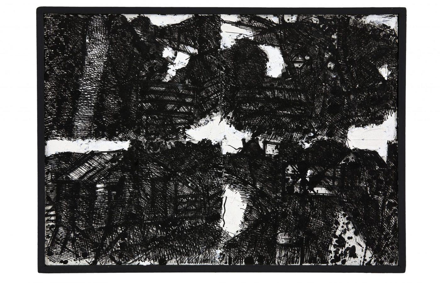 FXF18-60 John Virtue Landscape No 113 1990-91