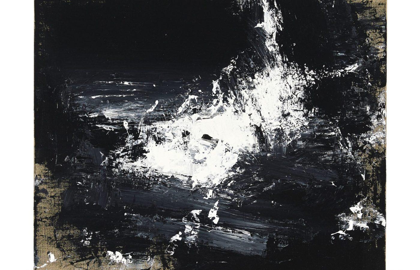 FXF18-61 John Virtue Untitled No 17 2016-17