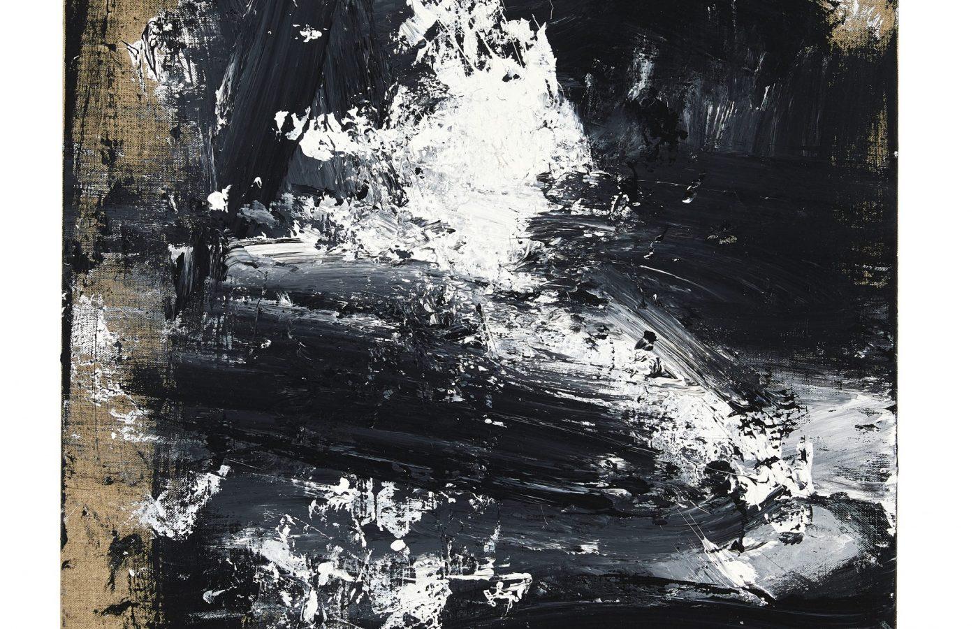 FXF18-62 John Virtue Untitled No 14 2016-17